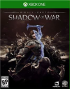Game Middle-earth: Shadow of War  Xbox One cover art