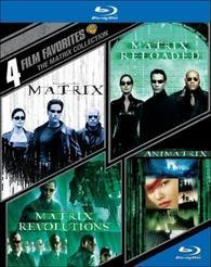 4 Film Favorites: The Matrix Collection cover art