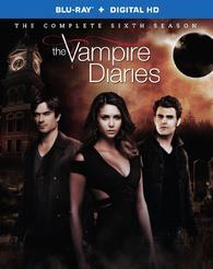 The Vampire Diaries: The Complete Sixth Season cover art
