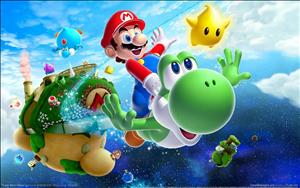 Super Mario Galaxy 2 cover art