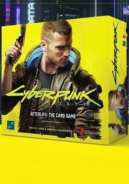 Cyberpunk 2077: Afterlife - The Card Game cover art