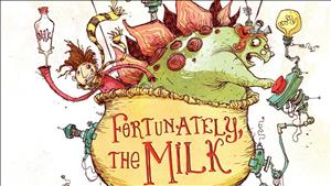 Fortunately, The Milk cover art