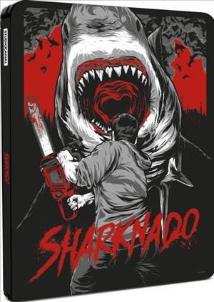 Sharknado - Limited Edition Steelbook cover art