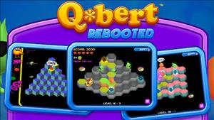 Q*bert: Rebooted cover art
