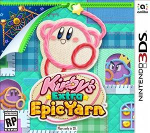 Kirby's Extra Epic Yarn cover art