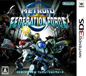 Metroid Prime: Federation Force cover art