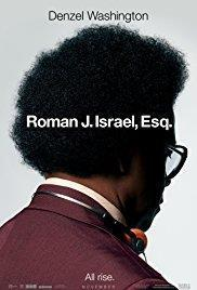 Roman J Israel, Esq. cover art