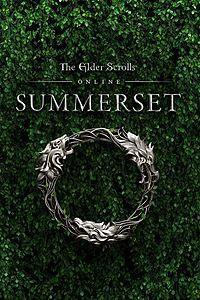 The Elder Scrolls Online: Summerset cover art