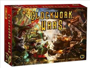 Clockwork Wars cover art