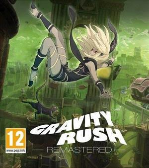Gravity Rush Remastered cover art