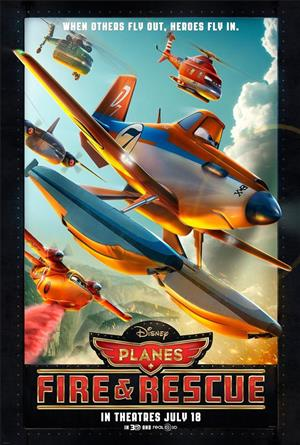 Planes 2: Fire and Rescue cover art