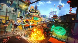 Sunset Overdrive cover art