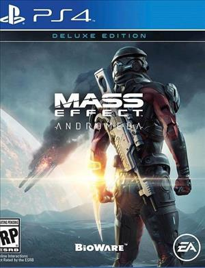 Mass Effect: Andromeda cover art