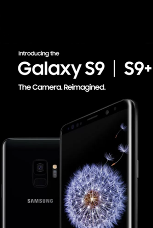 Samsung Galaxy S9 cover art