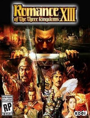 Romance of the Three Kingdoms XIII cover art