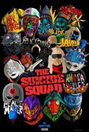 The Suicide Squad cover art