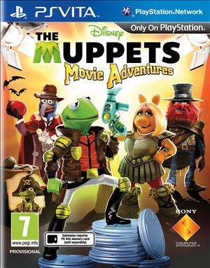 The Muppets: Movie Adventures cover art