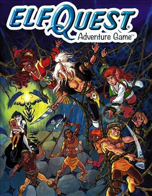 ElfQuest Adventure Game cover art