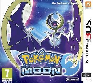 Pokemon Moon cover art