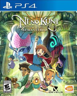 Ni no Kuni: Wrath of the White Witch Remastered cover art