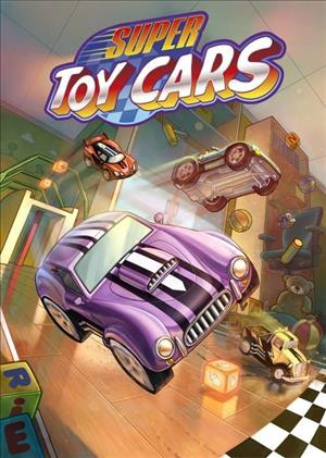 Super Toy Cars cover art