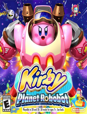 Kirby: Planet Robobot cover art