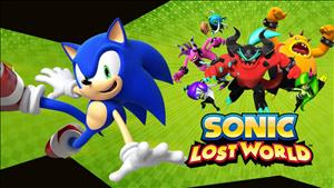 Sonic Lost World cover art
