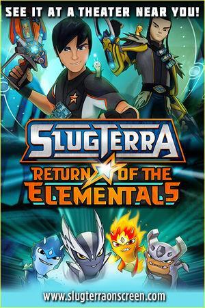 Slugterra: Return of the Elementals cover art