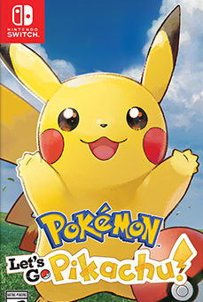 Pokemon: Let's Go, Pikachu! cover art