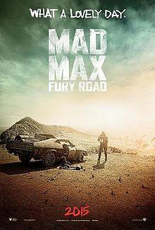 Mad Max: Fury Road cover art