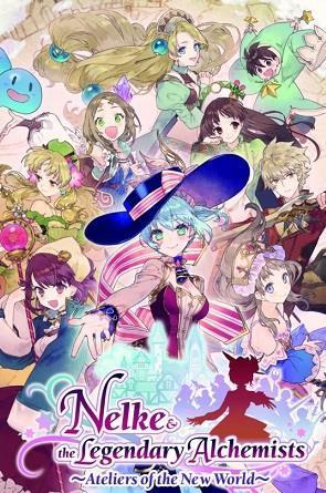 Nelke & the Legendary Alchemists: Ateliers of the New World cover art