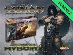 Age of Conan: The Strategy Board Game – Adventures in Hyboria cover art
