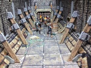 Battle Systems Fantasy Dungeon Terrain cover art