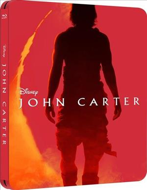 John Carter 3D - Steelbook cover art