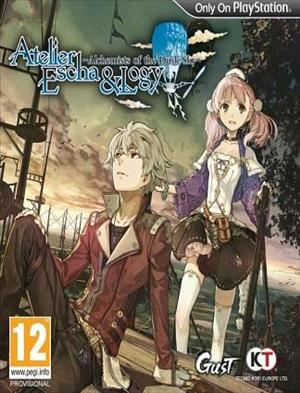 Atelier Escha & Logy Plus: Alchemists of the Dusk Sky cover art