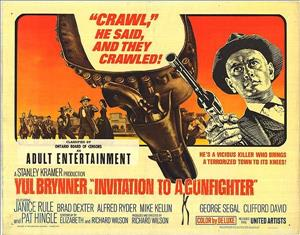 Invitation to a Gunfighter cover art