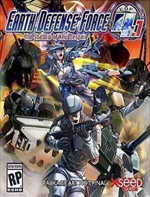 Earth Defense Force 4.1: The Shadow of New Despair cover art