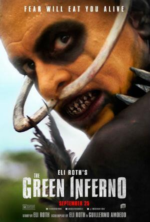 The Green Inferno cover art