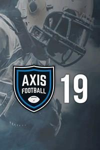 Axis Football 2019 cover art