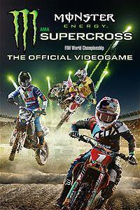 Monster Energy Supercross cover art