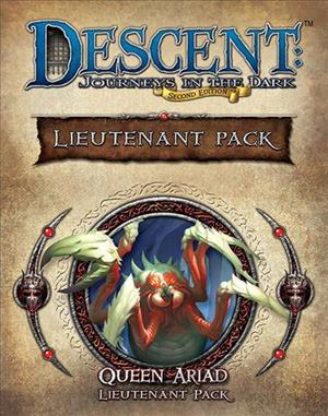 Descent: Journeys in the Dark (Second Edition) – Queen Ariad Lieutenant Pack cover art
