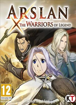 Arslan: The Warriors of Legend cover art