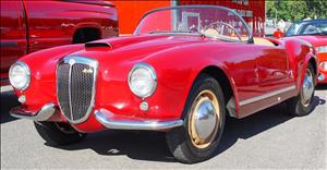 LANCIA Aurelia B24 Spider cover art