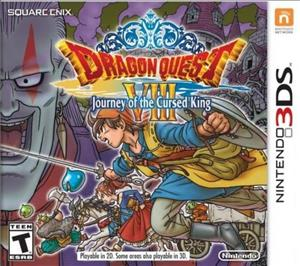 Dragon Quest VIII: Journey of the Cursed King cover art