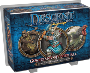 Descent: Journeys in the Dark (Second Edition) – Guardians of Deephall cover art