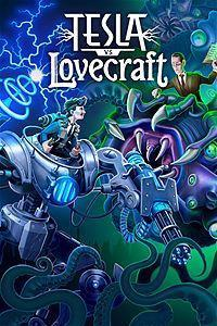 Tesla vs Lovecraft cover art