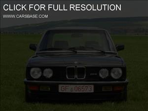 BMW 5-Series (E28) cover art