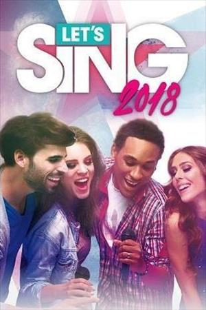 Let's Sing 2018 cover art