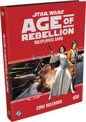 Star Wars: Age of Rebellion Core Rulebook cover art