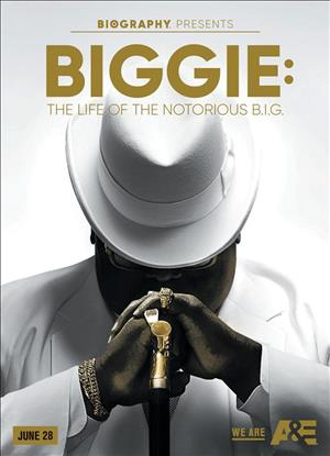 Biggie: The Life of Notorious B.I.G. Miniseries cover art